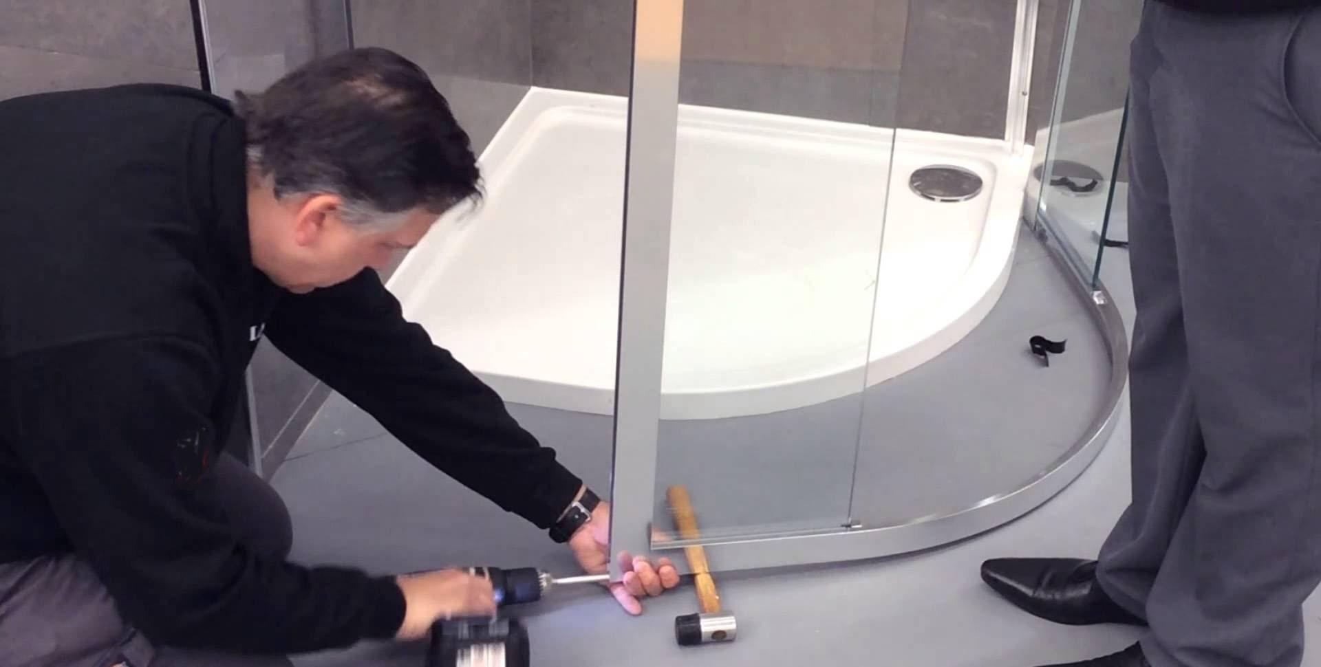 Установка душевых кабин от специалистов «Kabinki»